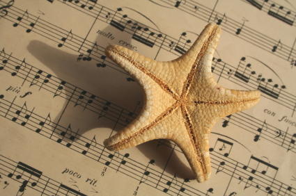 starfish on score
